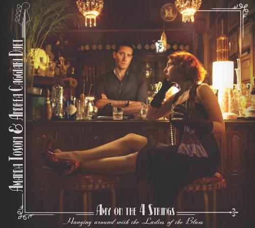 Fronte copertina Amanda Tosoni Andrea Caggiari Duet