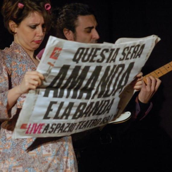 AMANDA E LA BANDA LIVE 1